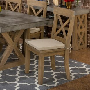 Alemany Solid Wood Dining Chair (Set of 2) August Grove