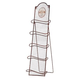 5 Bottle Floor Wine Rack