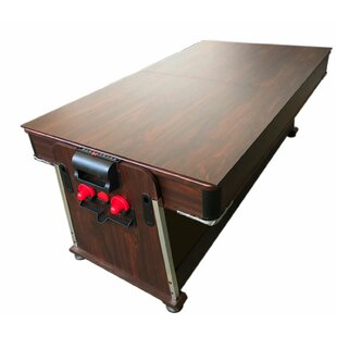 7' Multi-Game Convertible Pool Table..