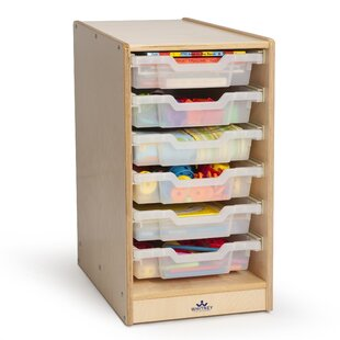 Compare Single 6 Compartment Cubby with Casters By Whitney Brothers