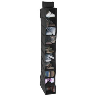 Best Price 10-Compartment 10 Pair Hanging Shoe Organizer By Bajer Design