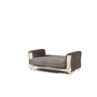 Rosdorf Park Highpoint Velvet 87 4 Round Arm Sofa Wayfair