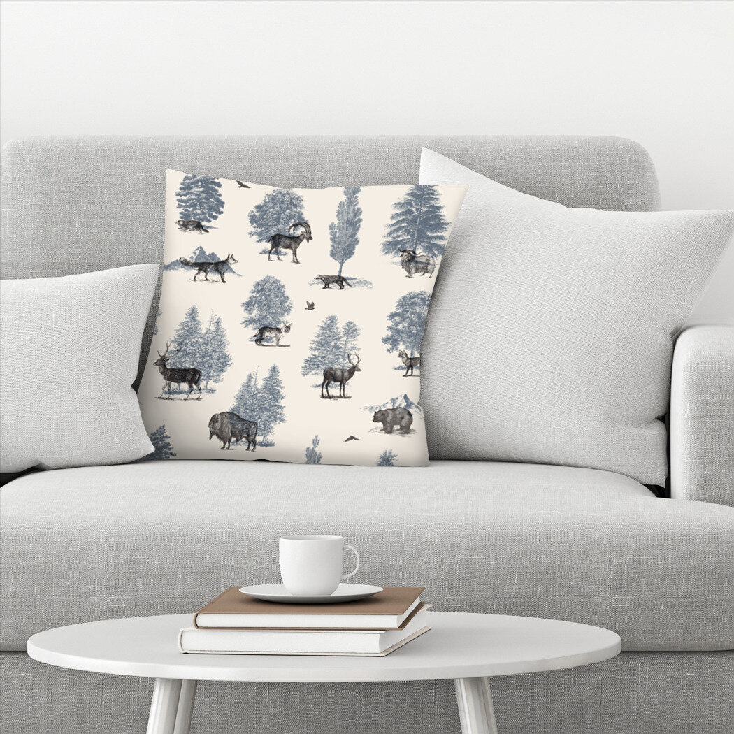 East Urban Home Florent Bodart Where They Belong Winter Throw Pillow Wayfair