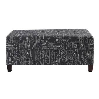 Terrific Monarch Specialties Inc Vintage Storage Ottoman Reviews Short Links Chair Design For Home Short Linksinfo