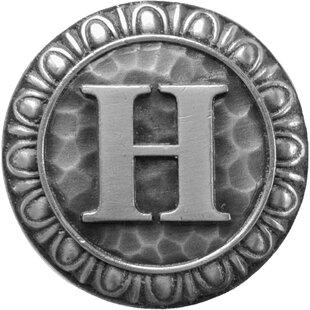 Alphabet Initial H Knob