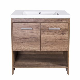 Kirby 30 Single Bathroom Vanity Set by Union Rustic