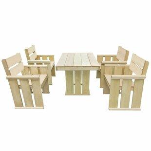 Chandler 4 Seater Dining Set Image