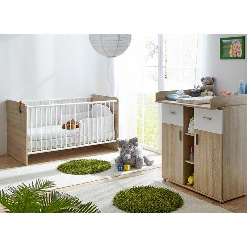 2-tlg. Babyzimmer-Set Demi Harriet Bee   Kinderzimmer > Babymöbel > Komplett-Babyzimmer   Harriet Bee