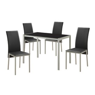 Wydra 5 Piece Dining Set by Orren Ellis