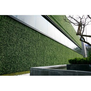 2 Ft. H X 2 Ft. W Artificial Wall Hedge Privacy Screen (Set Of 48) By E-Joy