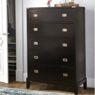 Rose 5 Drawer Chest by Brayden Studio #1