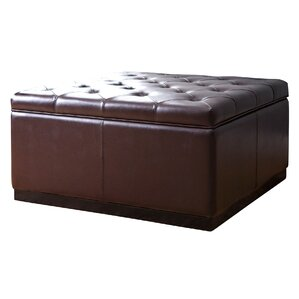 Rose Tufted Square Storage Ottoman by Red Barrel Studio
