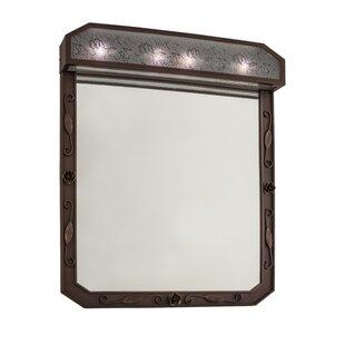 Arabesque Lighted Bathroom/Vanity Mirror By Meyda Tiffany