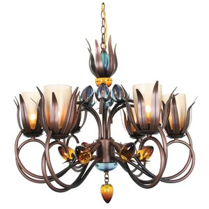 Dance Of Fire Dana 6-Light Candle-Style Chandelier