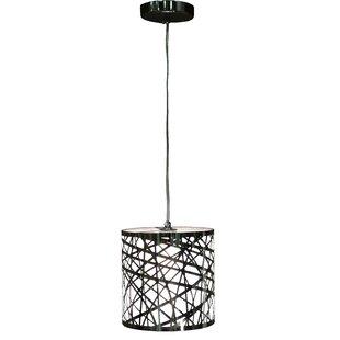 Warehouse of Tiffany Janna 1-Light Drum Pendant
