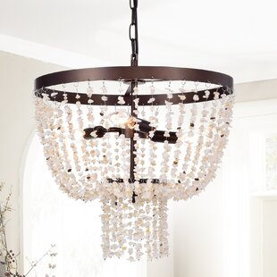 Beachcrest Home Jaylene 3-Light Bowl Pendant