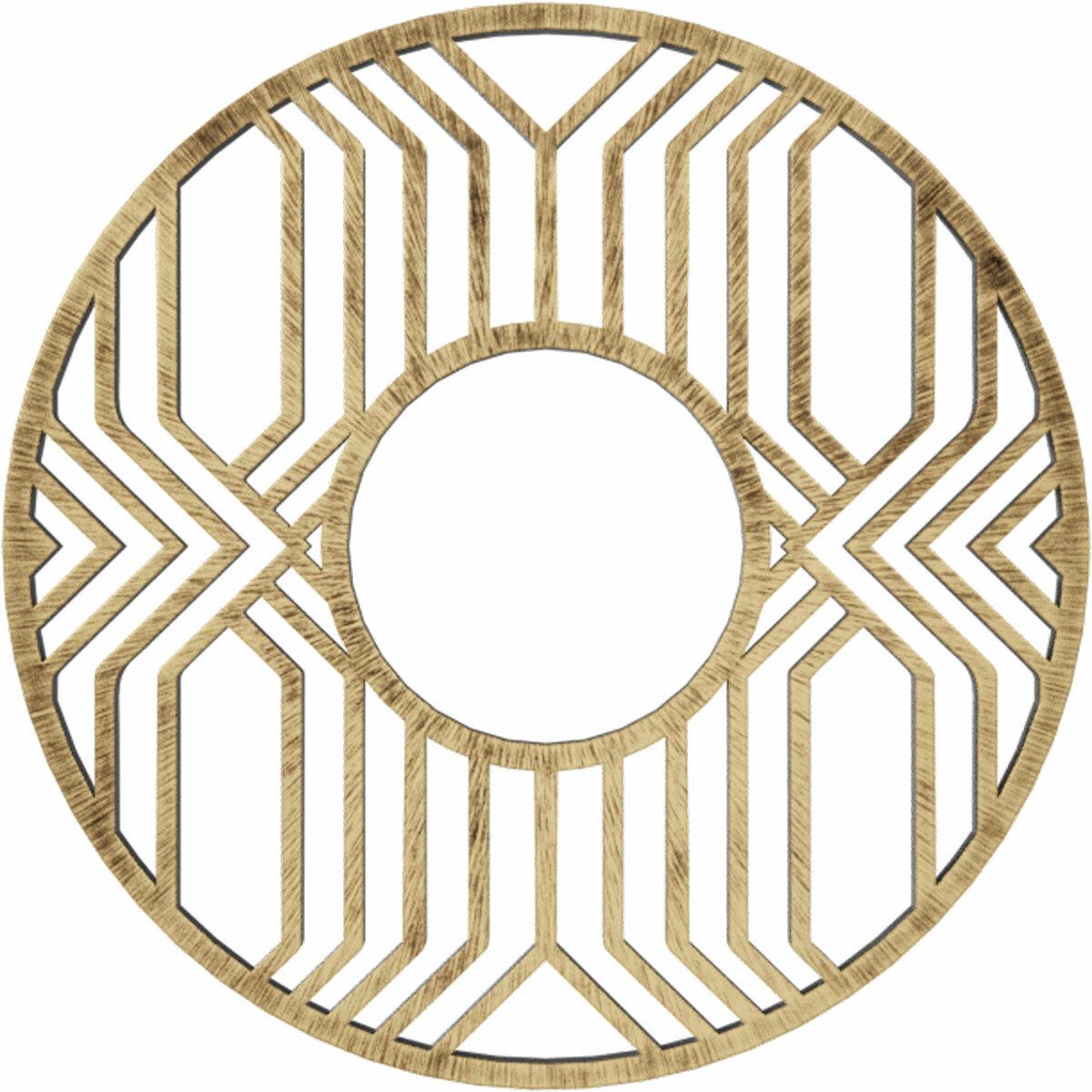 Ekena Millwork Empire Architectural Grade Pvc Pierced Ceiling Medallion Wayfair