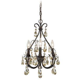 Lark Manor Leclerc 3-Light Candle Style Chandelier