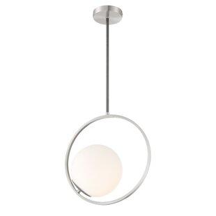 Espino 1-Light Globe Pendant by Orren Ellis