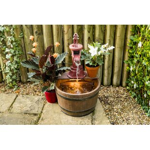 Price Sale Abilene Wood Floor Fountain With Light