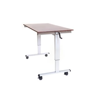 Crank Adjustable Standing Desk by Offex