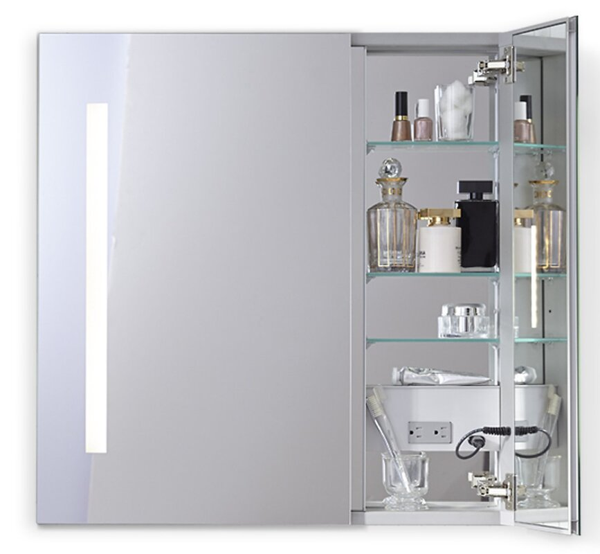 Robern aio 3525 x 30 recessed medicine cabinet with lighting aio 3525 x 30 recessed medicine cabinet with lighting aloadofball Gallery