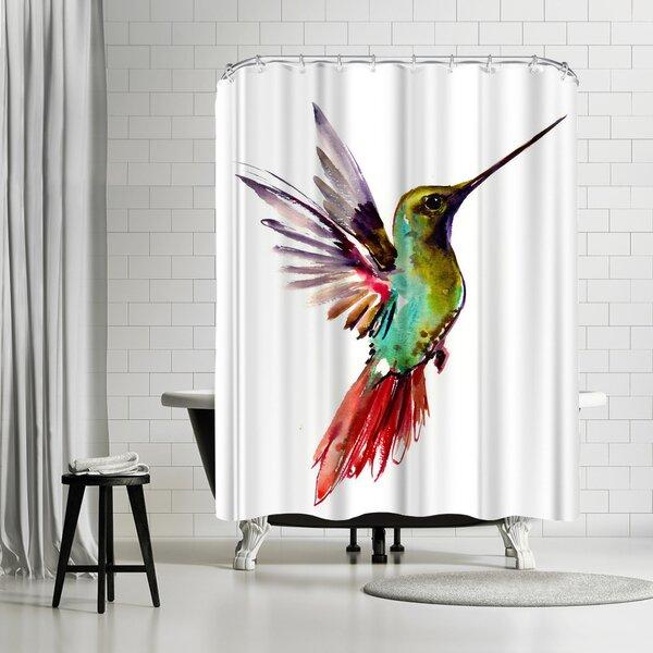 East Urban Home Suren Nersisyan Hummingbird 6 Single Shower Curtain Wayfair