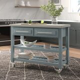 London 3 Tier Kitchen Cart with Stainless Steel Top by Ebern Designs