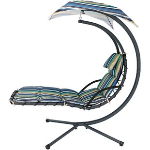 Ketner Hanging Chaise Lounger with Stand