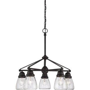 Laurel Foundry Modern Farmhouse Hansen 5-Light Shaded Chandelier