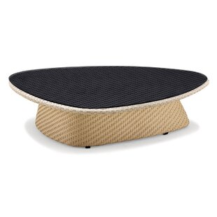 Circle Wicker/Rattan Coffee Table by 100 Essentials