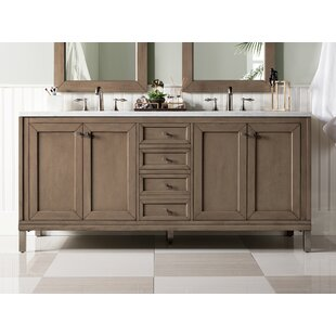 Whitworth 72 Double Bathroom Vanity Set by Brayden Studio