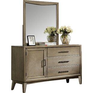 3 Drawer Combo Dresser