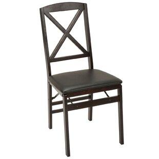 Bon Vinyl Padded Folding Chair (Set Of 2)