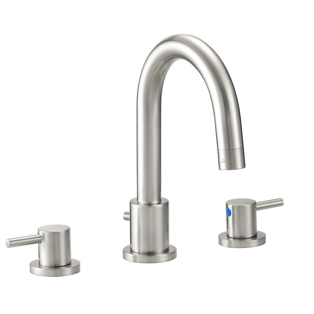 Ebern Designs Aspasia Centerset Wrist Blade Bathroom Faucet With Drain Assembly Wayfair