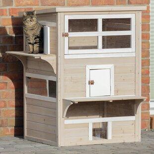 Gatsby Cat House & Waterproof Outdoor Cat House | Wayfair