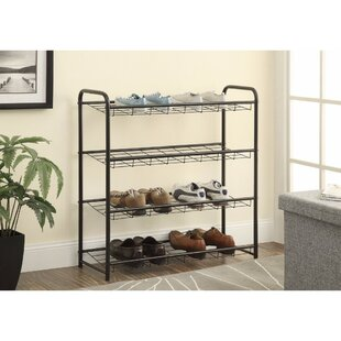 Searching for Metal 10 Pair Shoe Rack By Rebrilliant