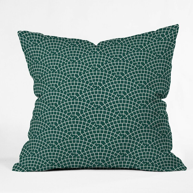 East Urban Home Holli Zollinger Scallop Marine Throw Pillow Wayfair