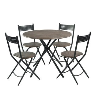 Zaiden 5 Piece Dining Set by Gracie Oaks