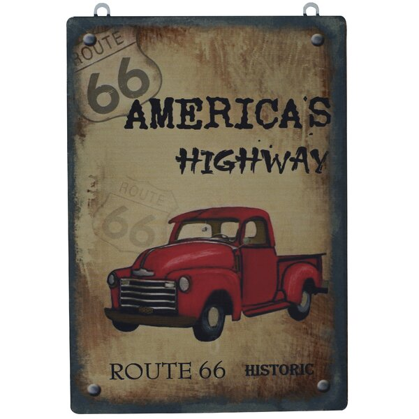 ROUTE 66 AMERICA/'S HIGHWAY SIGN GREAT FO BAR MAN-CAVE KITCHEN  ETC