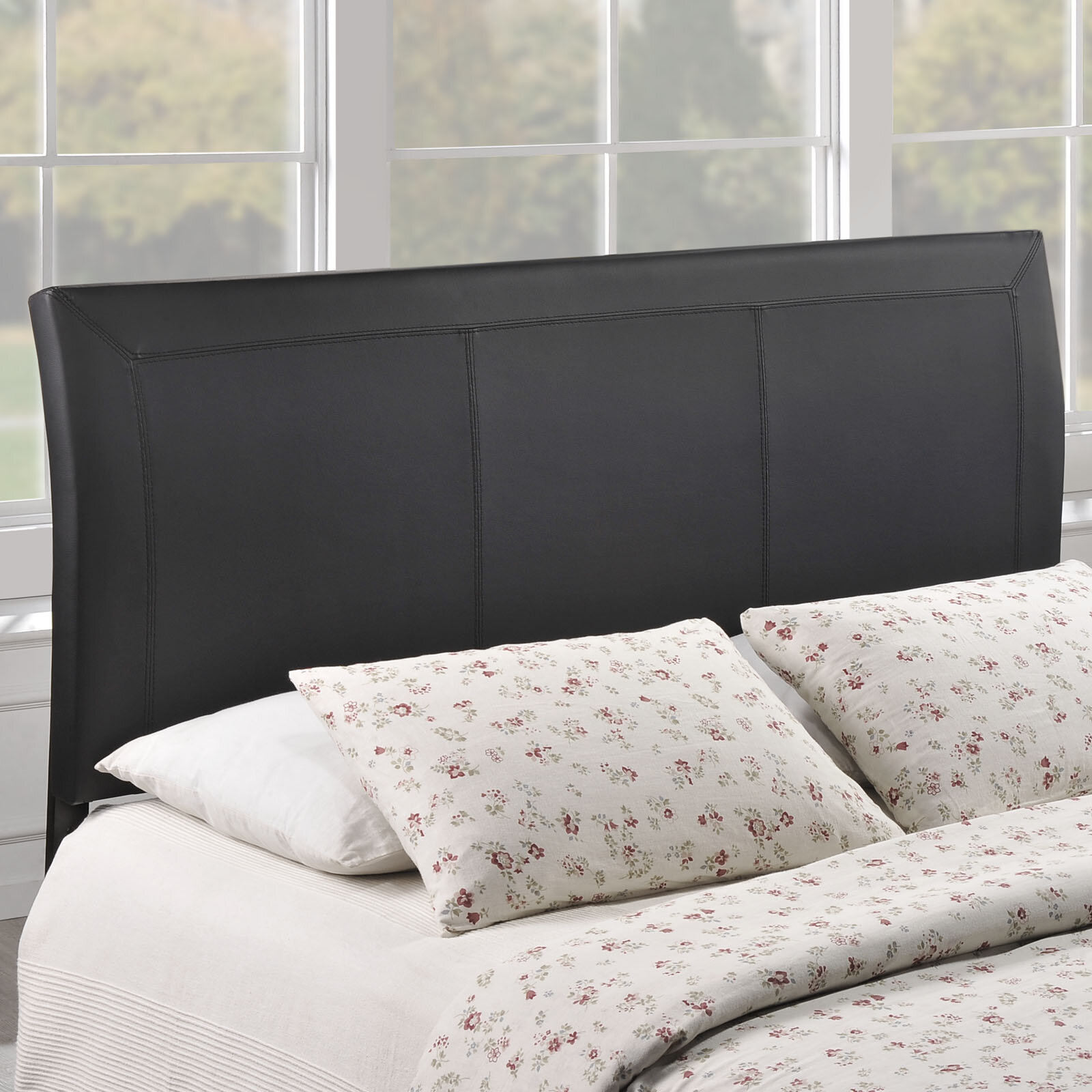 Apolonio Queen Upholstered Wingback Headboard