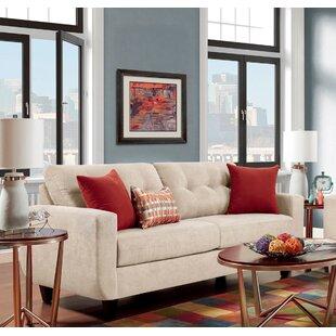 Ebern Designs Castiglia Tufted Sofa