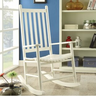 Highland Dunes Boughton Oak Rocking Chair