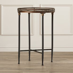 Abingdon End Table by Fleur De Lis Living