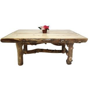 Aspen Grizzly Solid Wood Dining Table Mountain Woods Furniture