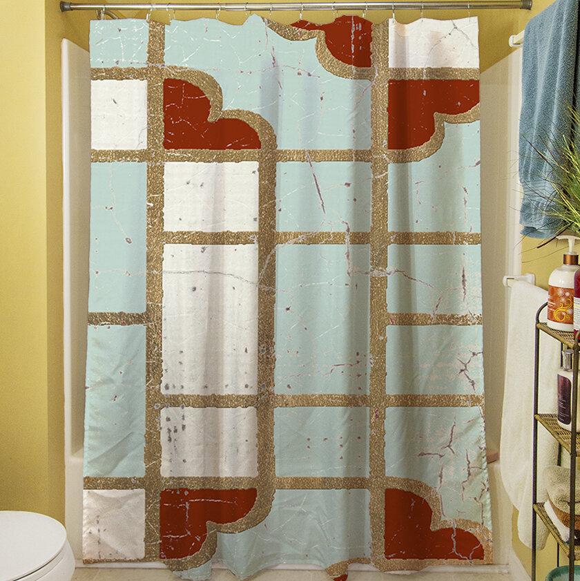 Red Barrel Studio Scullin Single Shower Curtain Wayfair