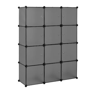 Dahlgren 110cm Wide Clothes Storage System By Rebrilliant