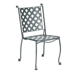 Maddox Bistro Stacking Patio Dining Chair by Woodard