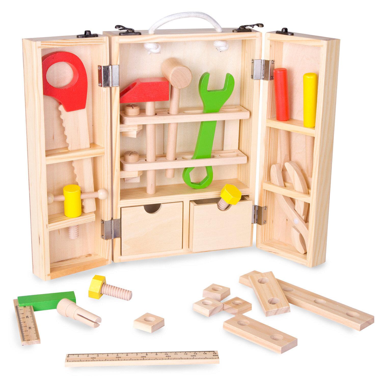 Zoomie Kids Pierz Carpenters Toy Box Reviews Wayfair