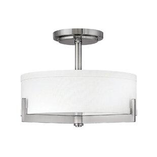 Hayes Indoor 3-Light Semi Flush Mount by Hinkley Lighting